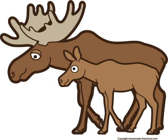 Moose clipart moose rack. Free click to save