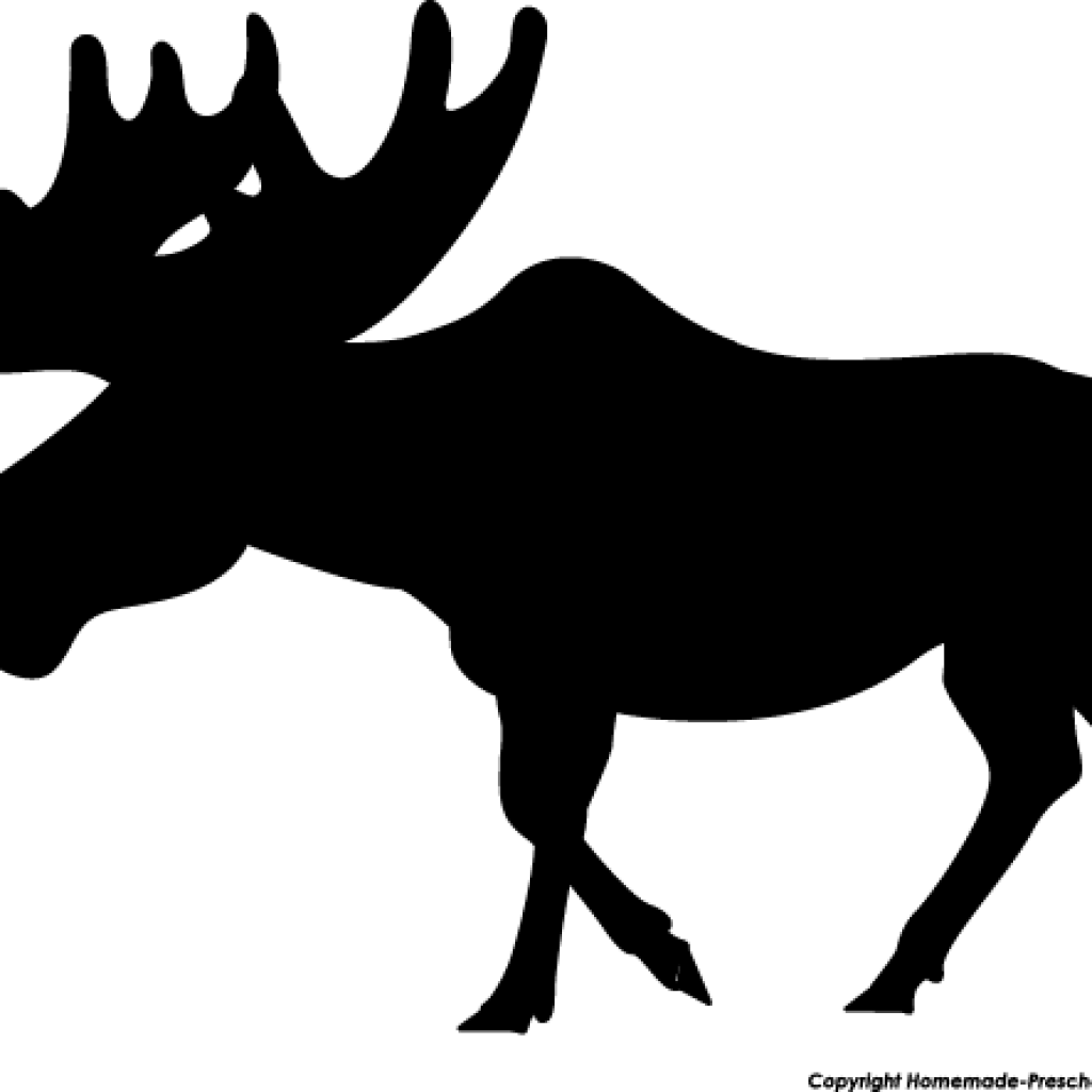 moose-pictures-black-white-silhouette
