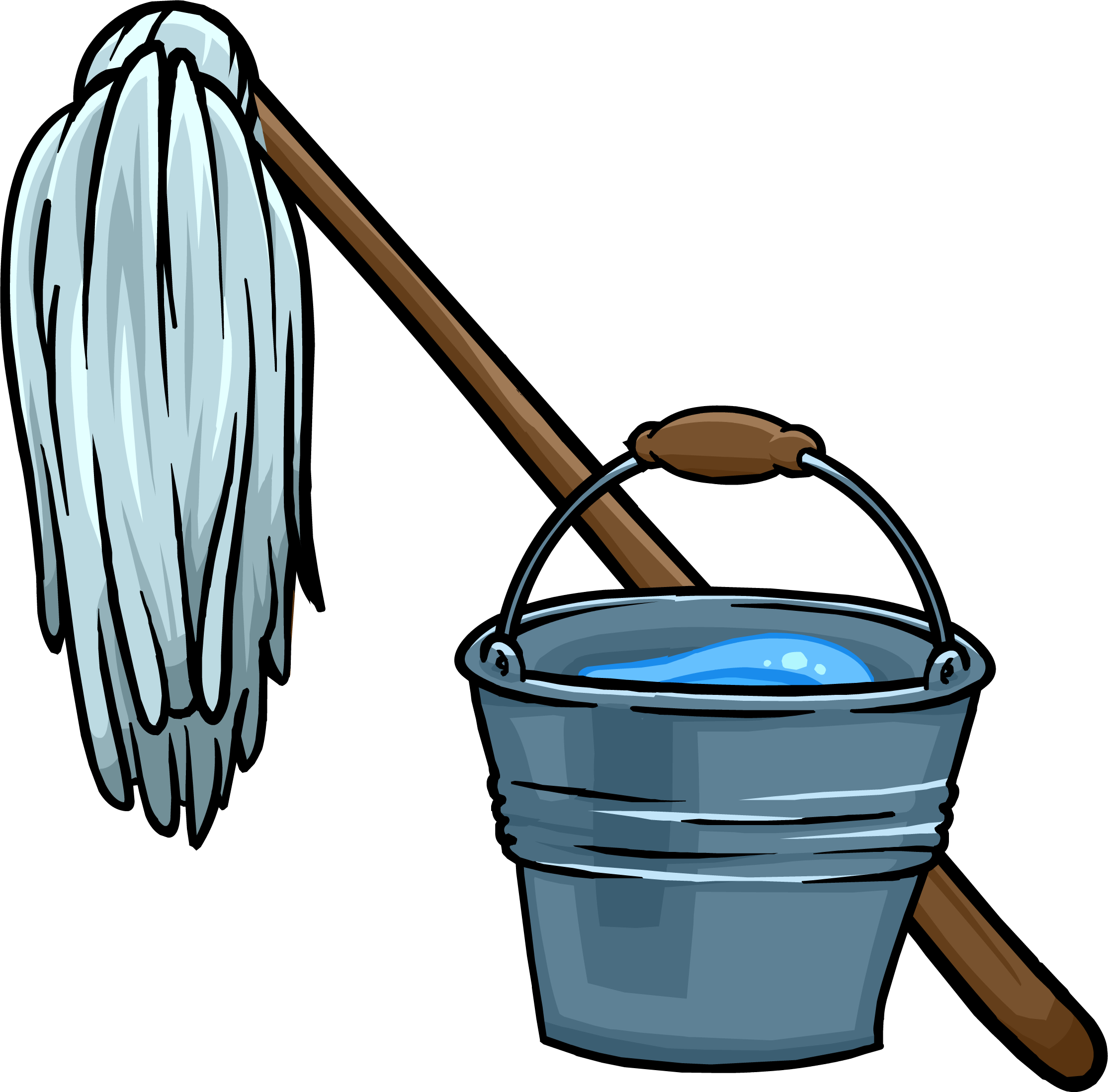 Mop bucket png. Image and icon club