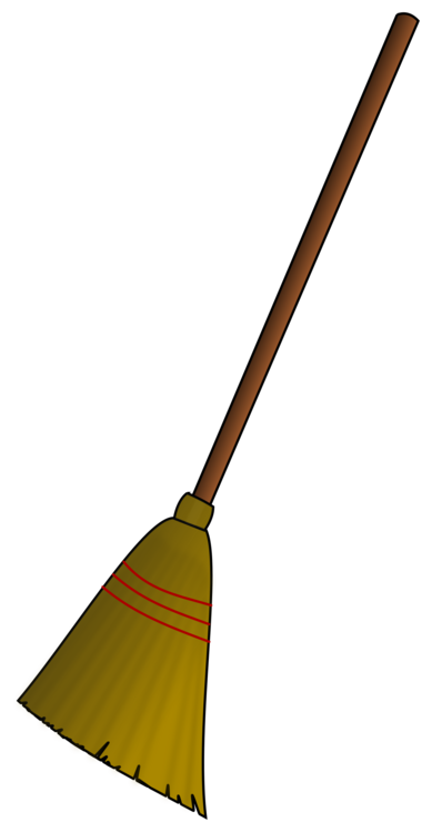 Cleaning clipart broom. Witch s witchcraft dustpan