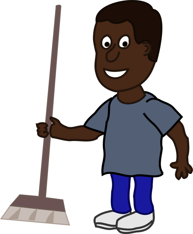 Cleaning clipart broom. Computer icons mop dustpan