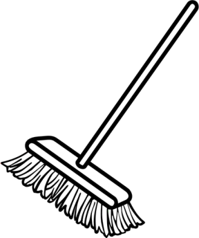 Broom clipart sweeping broom. Free black cliparts download