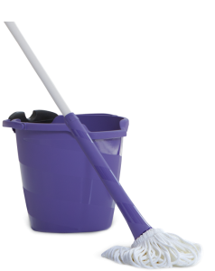 Mop clipart janitorial supply. Mopping just became a