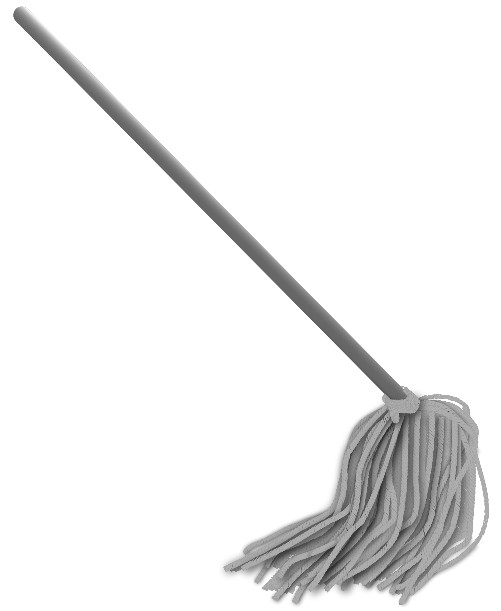 Mop transparent. Graphic freeuse stock