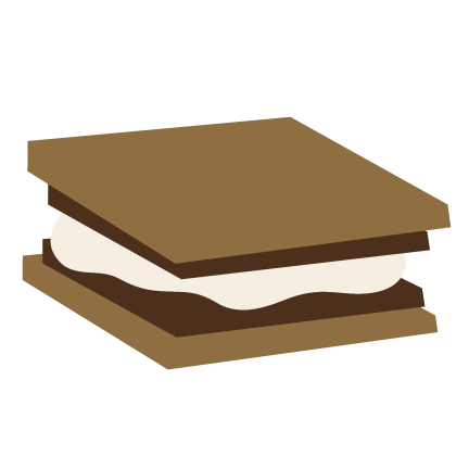Smores vector transparent. Free s mores cliparts