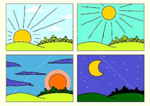 Morning clipart. This afternoon or evening