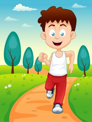 Morning clipart early morning. Jog get motivated now