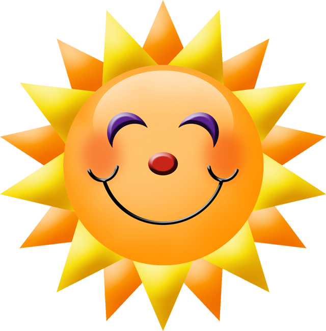 Smiley clipart summer. Pin by haydee prats