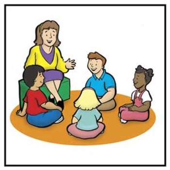 Morning clipart teacher. Meeting level by autism