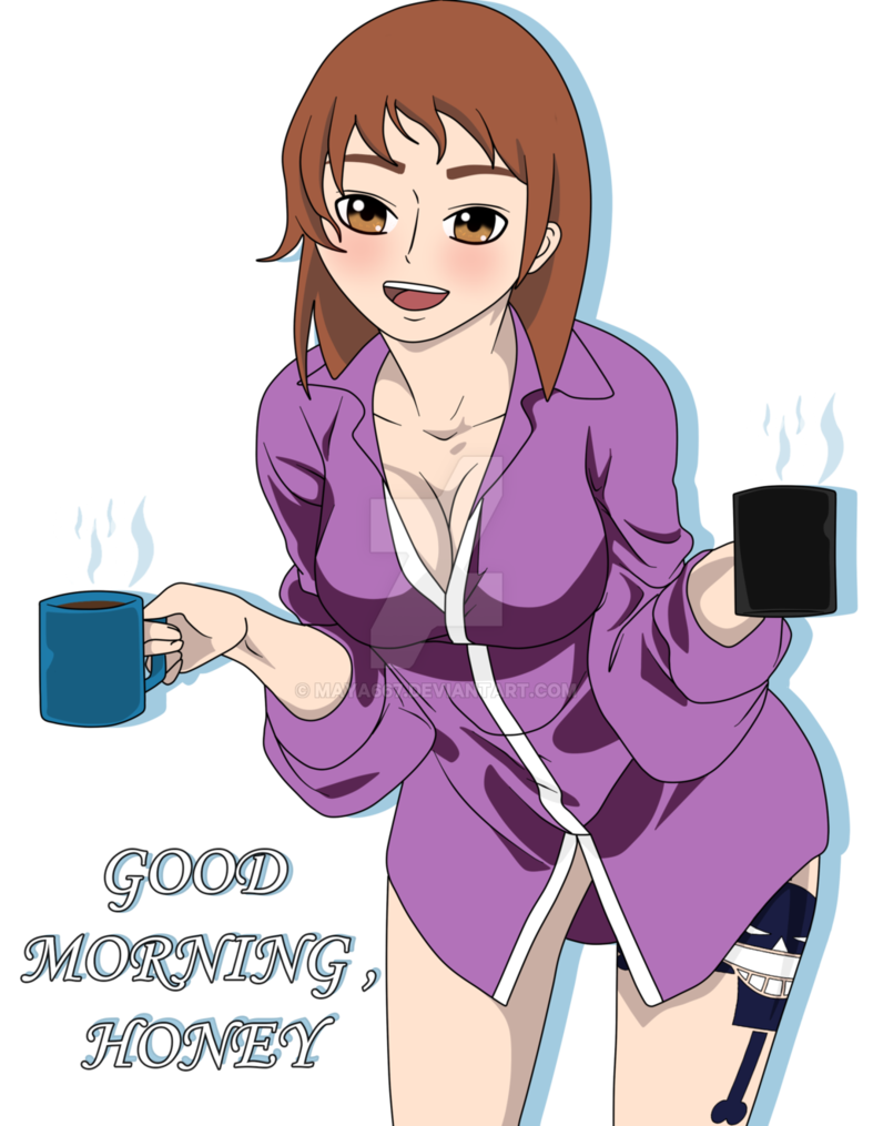 Morning drawing anime. By maya on deviantart