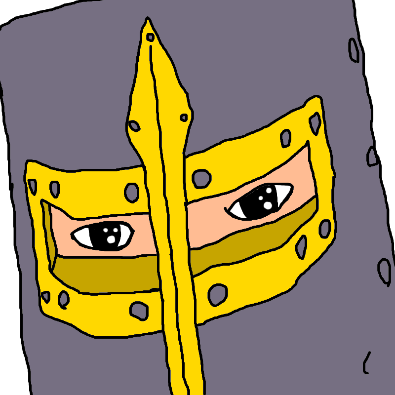 Morning drawing yellow. Shitty and rushed deus