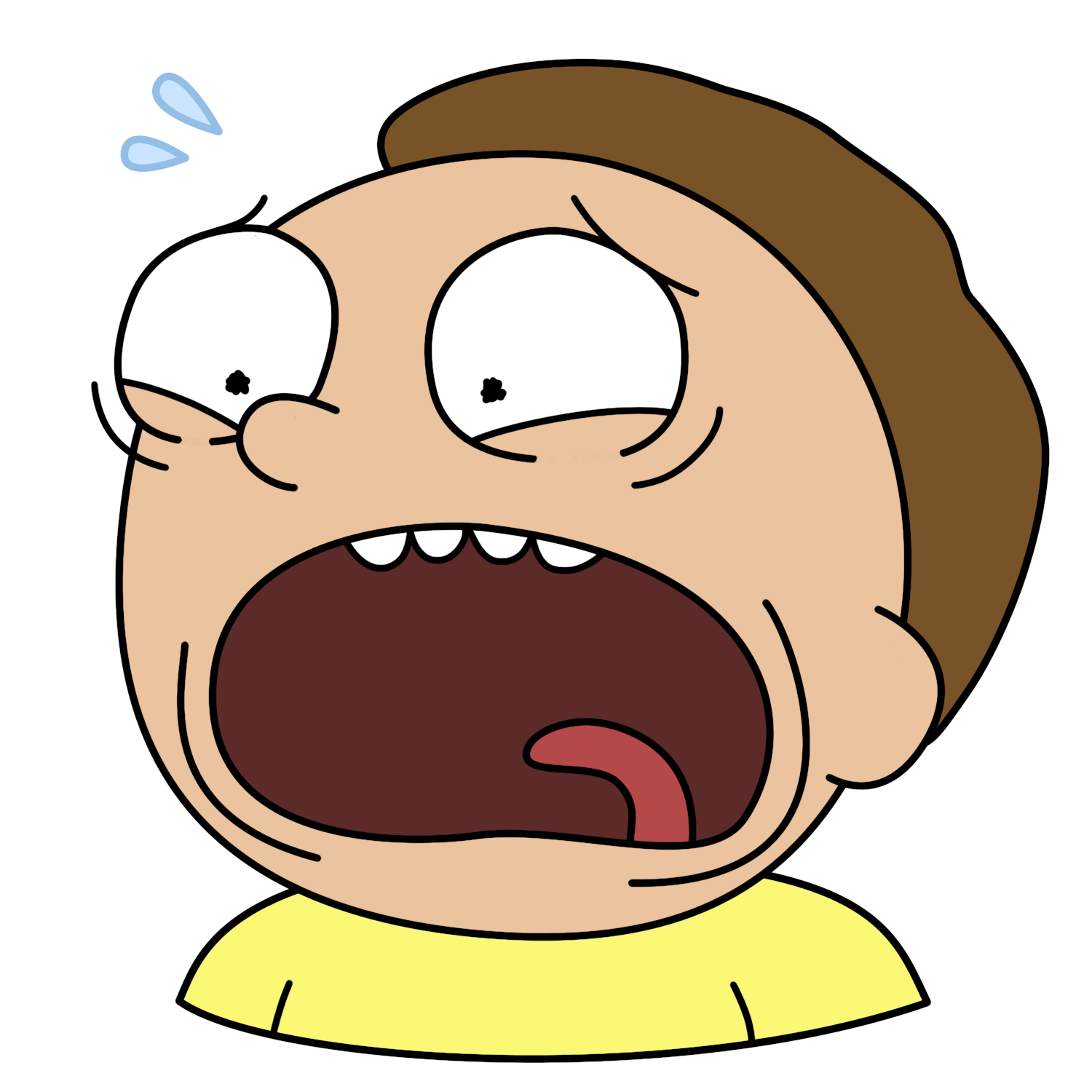 rick and morty rick face png
