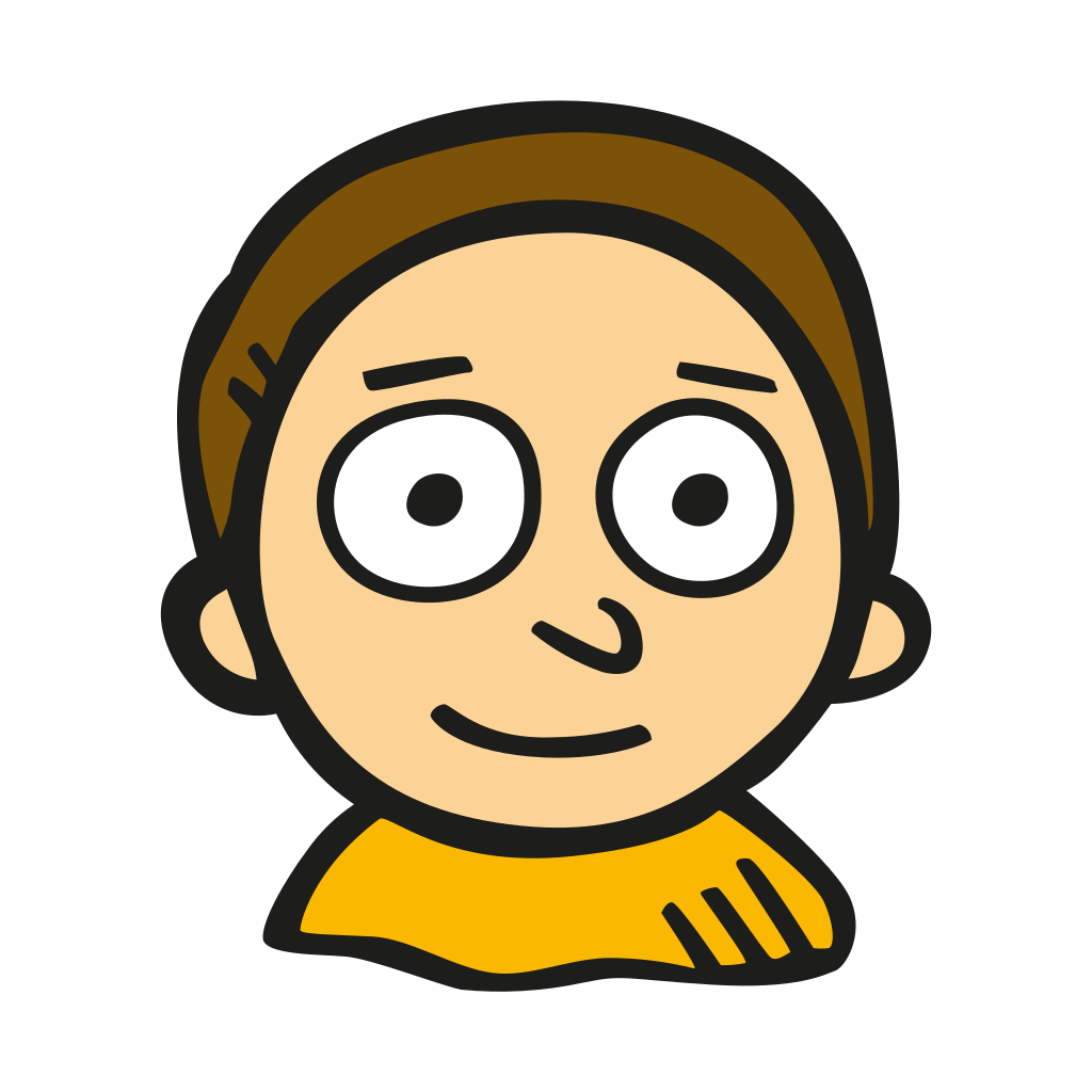 Morty icon png. Free space iconset good