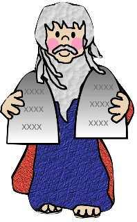 Moses clipart basket. And the burning bush
