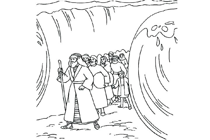 Moses clipart red sea. Ideas and the burning