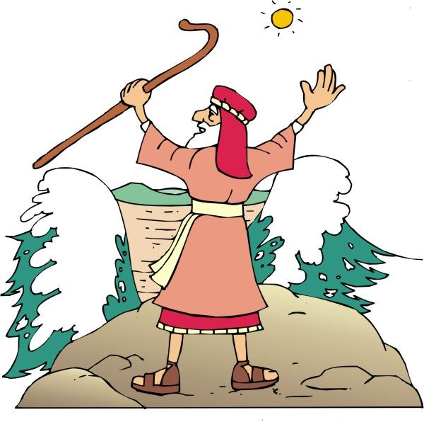 Moses clipart red sea. Great free opens the