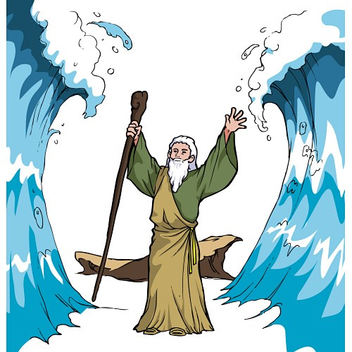 Moses clipart red sea. Best photos of clip