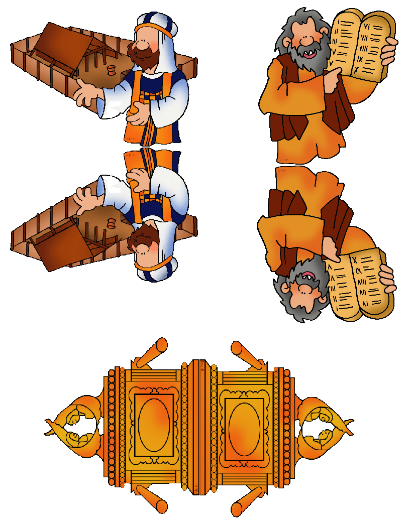 Moses clipart tabernacle. Ark of the covenant