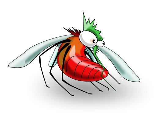 vector mosquitoes svg