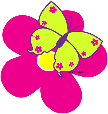 Cute clipart panda free. Clip spring butterfly banner freeuse stock