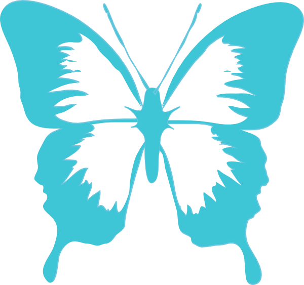 3 clipart butterfly. Free clip art graphics