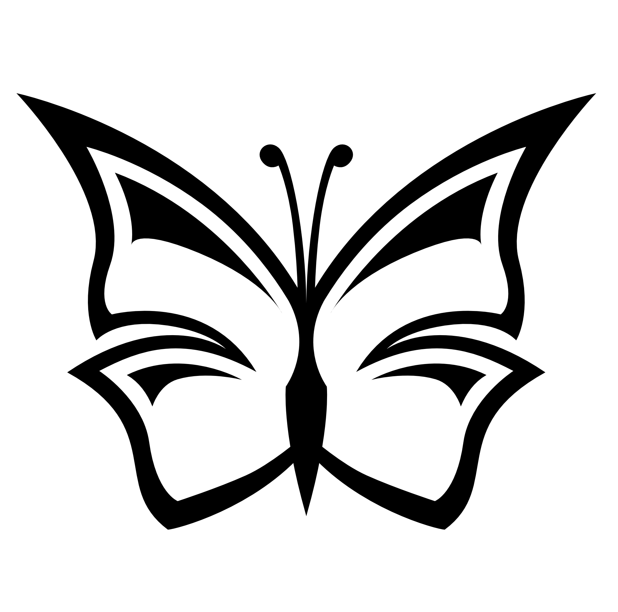 Drawing photoshop black and white. Free butterfly images download