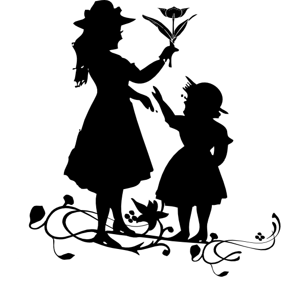Mother and child png. Clip art at clker