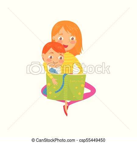 With her son sitting. Mother clipart fairy png royalty free