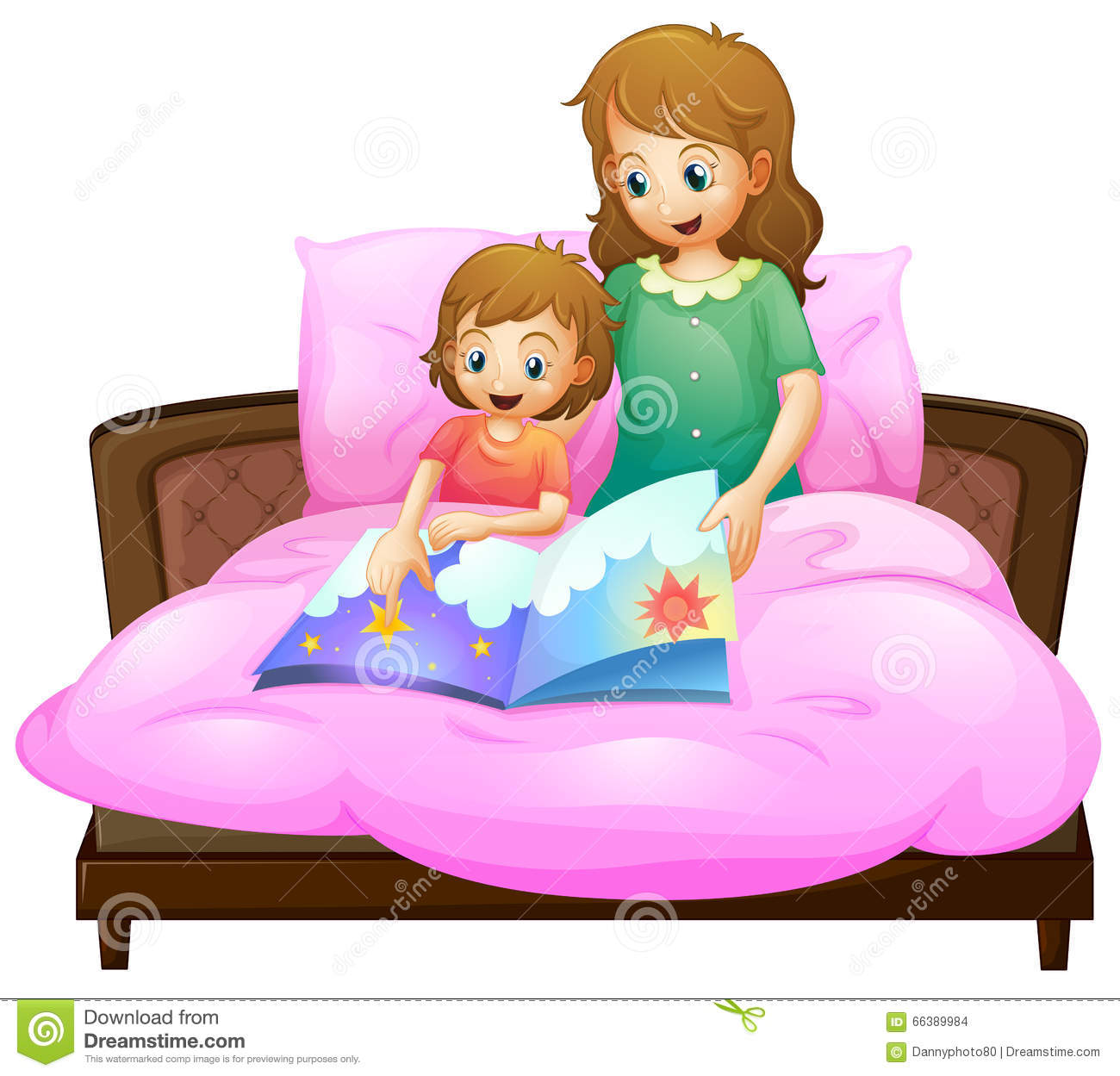 Telling bedtime story to. Mother clipart kid png transparent library