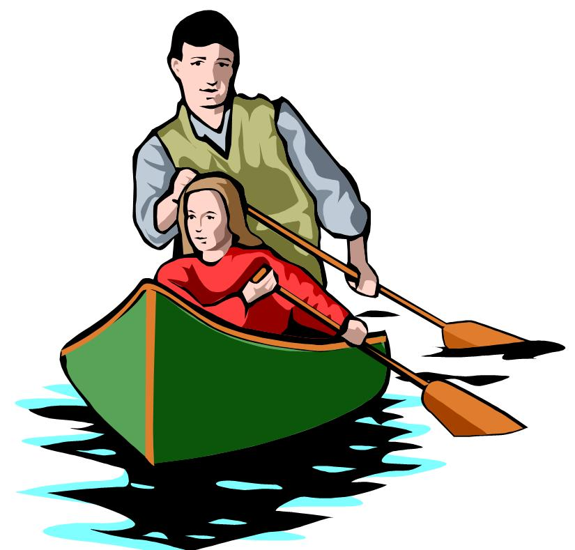 Row boat canoe pencil. Mother clipart kid clipart library