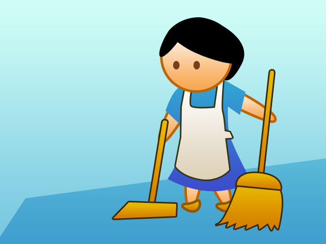 Mother clipart ofw. Dole taking care of