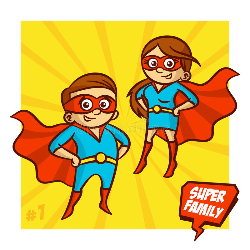 Mother clipart superhero. Super family and father graphic black and white