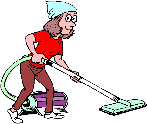 Mother clipart sweeping. Cleaning panda free images