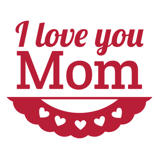 mom vector png