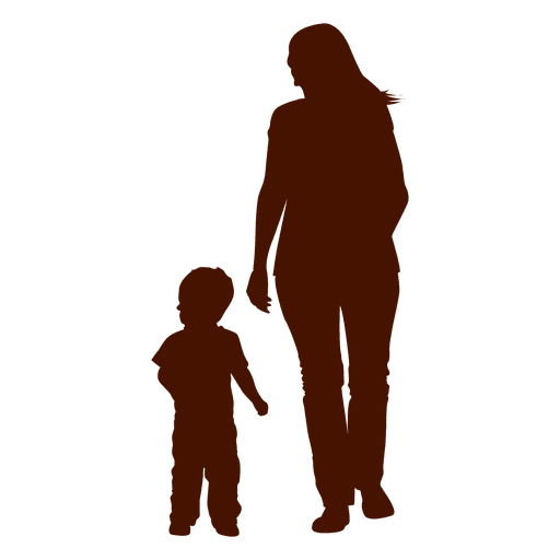 mom and child png
