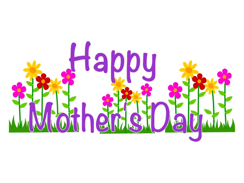 Mothers clipart. Mother s day flower