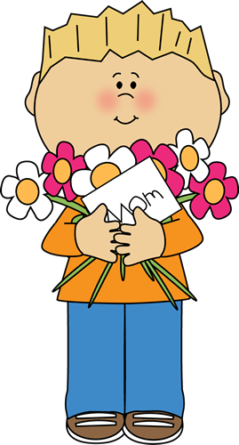 Mothers clipart. Free happy day boy