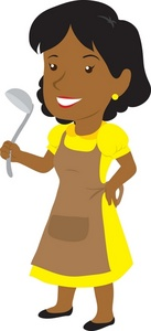 Mothers clipart person. Young mom