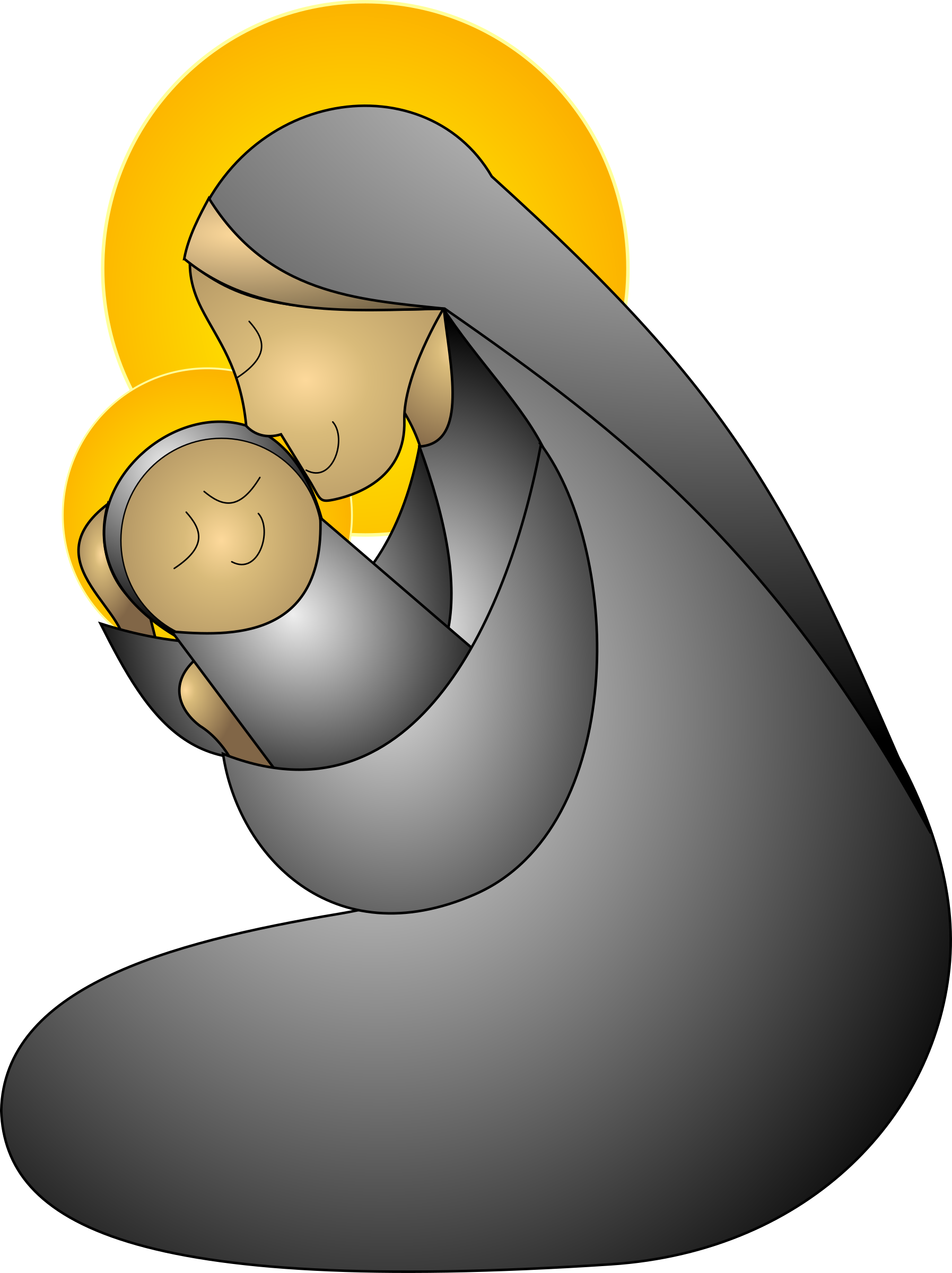 Mothers clipart teacher hug. Medium image is second