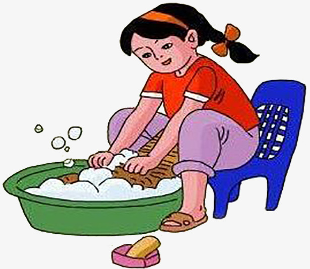 Mothers clipart washing. Help mum wash clothes