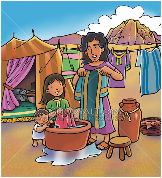 Mothers clipart washing. The clothes