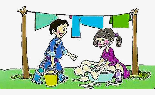Mothers clipart washing. Wash clothes together mother