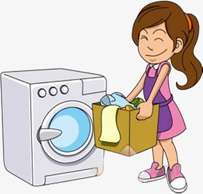 Mothers clipart washing. Mother washed the clothes