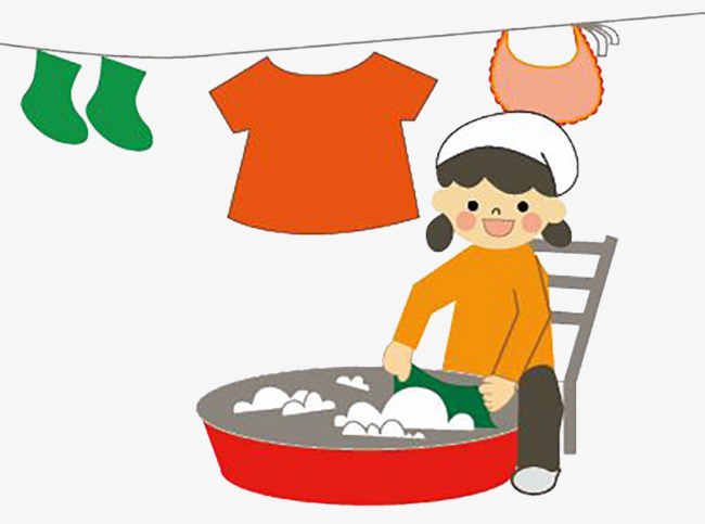Mothers clipart washing. Mother washed clothes wash