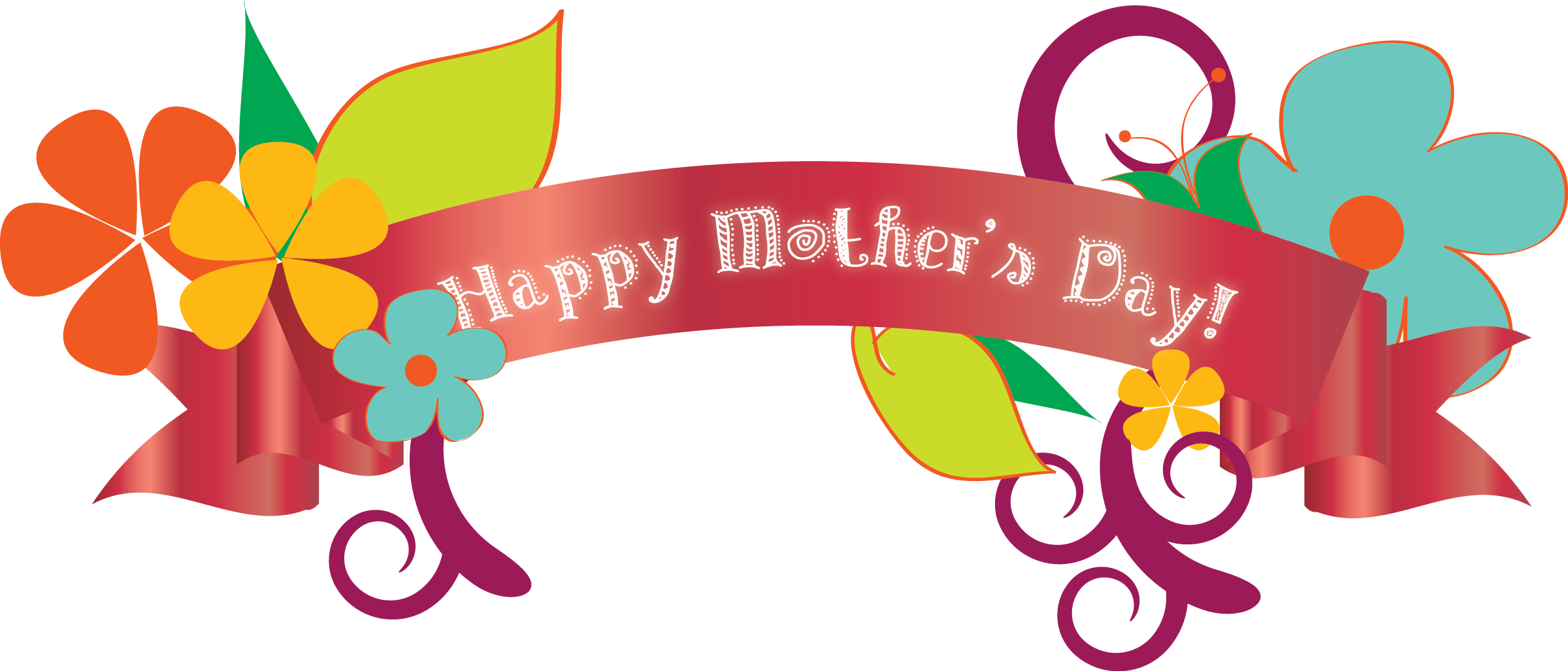 Mothers day banner png. Transparent pictures free icons