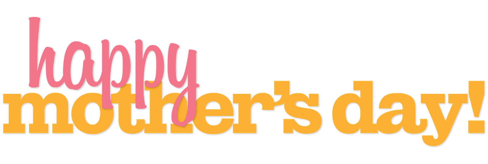Mothers day banner png. Happy transparent stickpng download