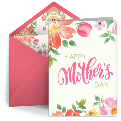 Mothers day card png