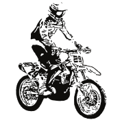 Motocross drawing. Iphone case spreadshirt