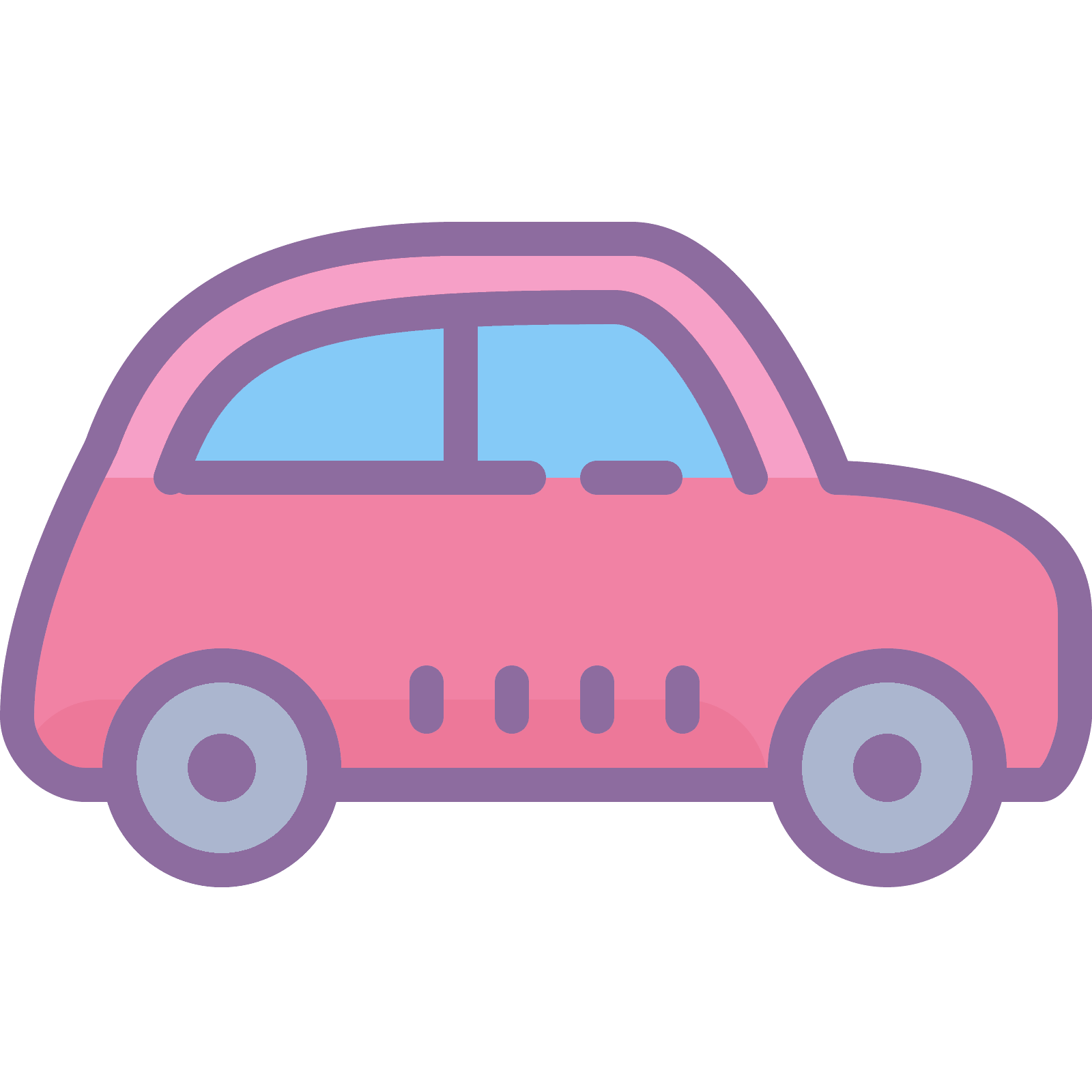 Transportation vector flat. Fiat icon free download