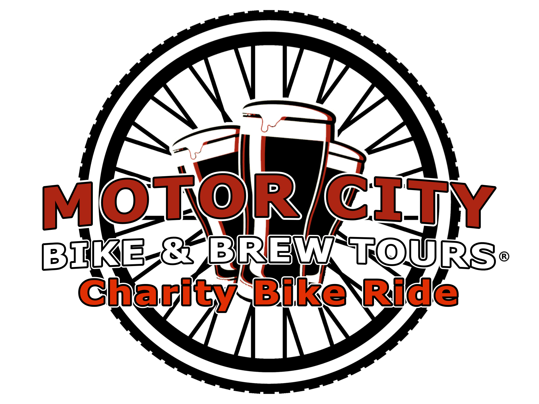 City bike brew tours. Motor vector ride picture freeuse stock